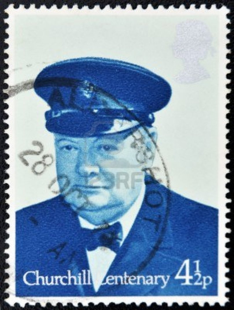 10748607-great-britain--circa-1974-a-stamp-printed-in-united-kingdom-shows-sir-winston-spencer-churchill-brit