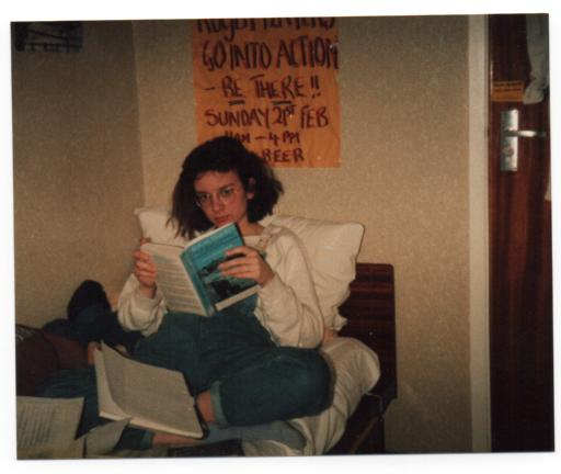 Me studying back in 1987 at Lancaster University