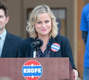 Leslie Knope would say 'Go vote! (As would Amy Poehler)