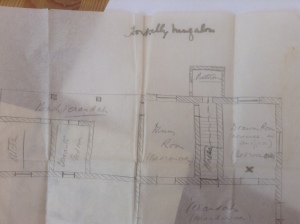 Plans for Horekelly bungalow